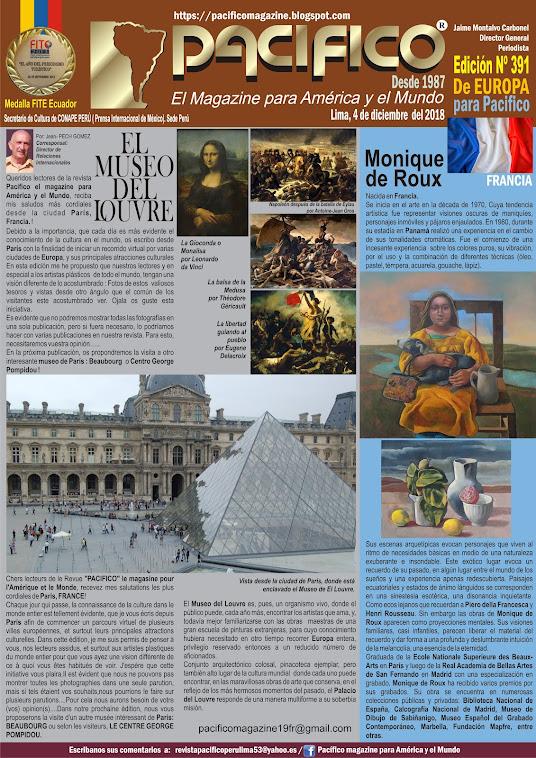 Revista Pacifico N°391 De Europa para Pacifico