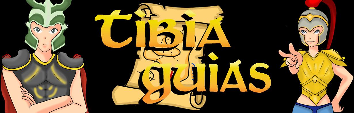 TibiaGuias - supported fansite - criado com amor.