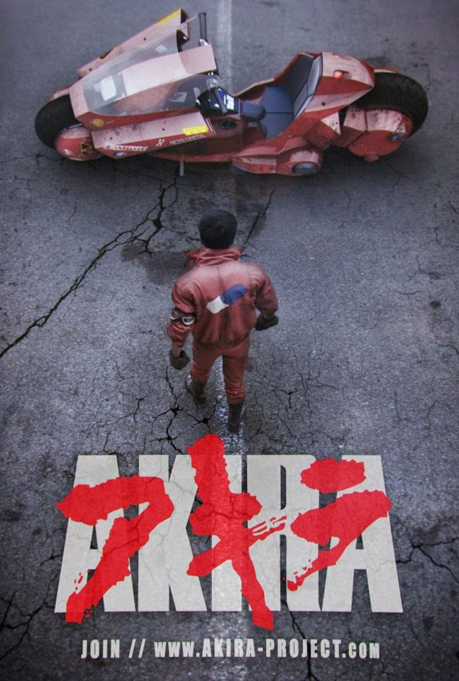 AKIRA, FILM DAL VIVO FAN-MOVIE CON TRAILER