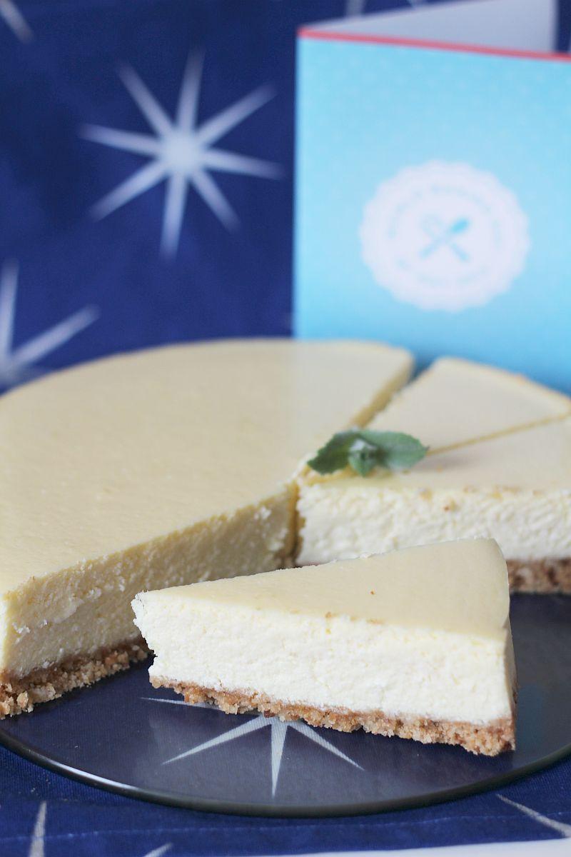Sernik z białą czekoladą na World Baking Day