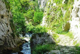 El río y la estrechura
