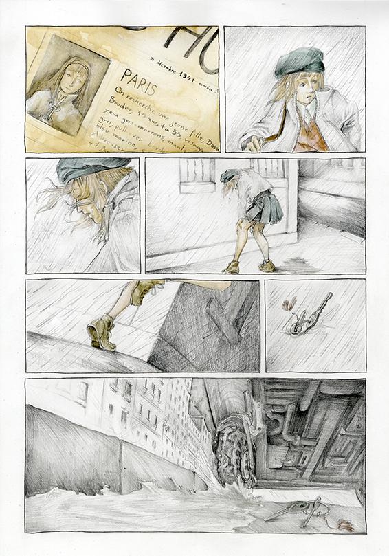 BD Dora Bruder, par Astate, page 1