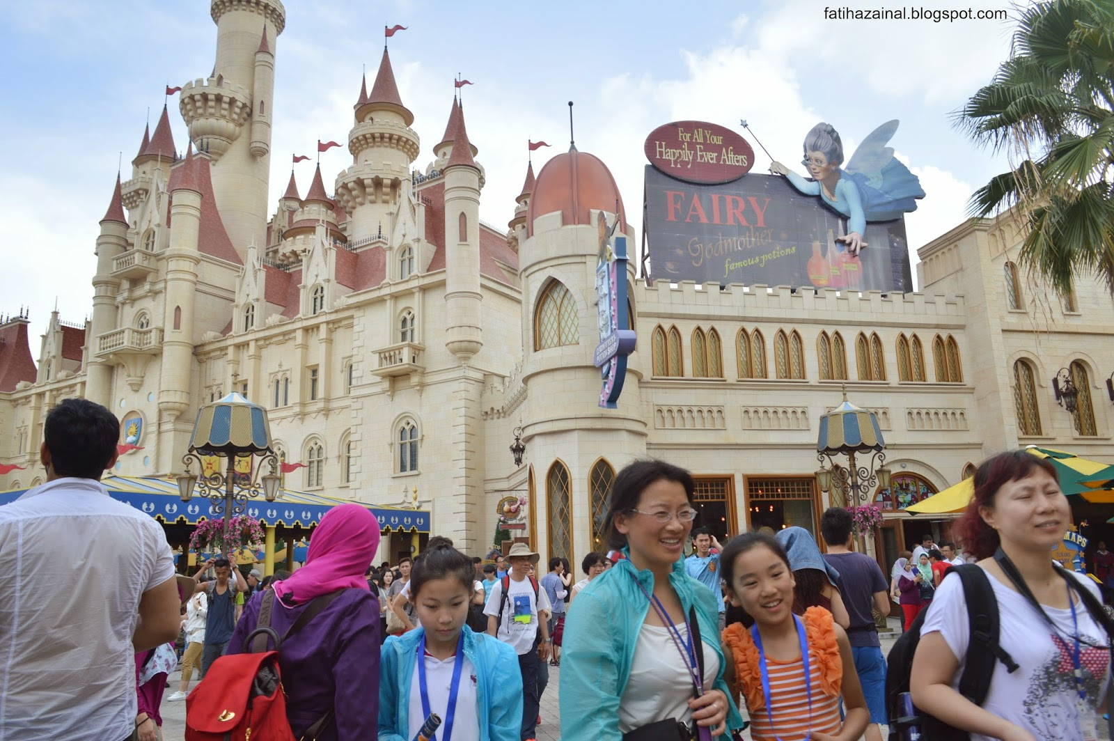 far far away castle , uss singapore