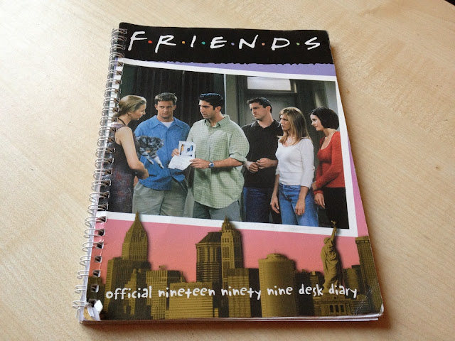 Friends 1999 desk diary