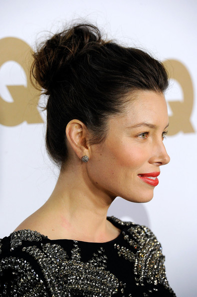 Jessica Biel Updo Hairstyle *