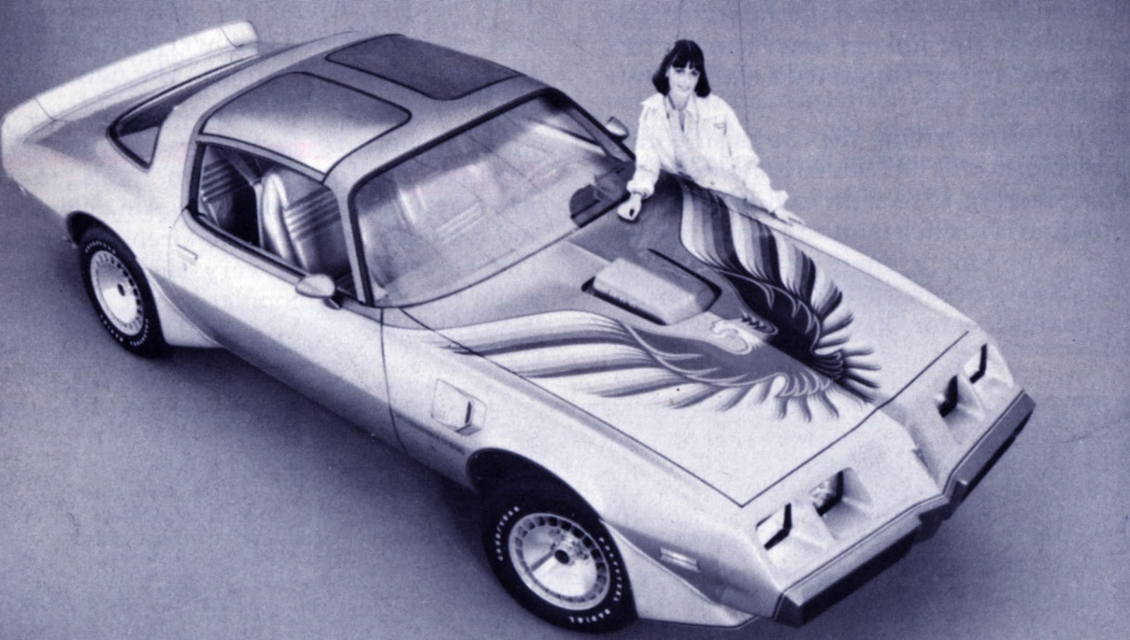 phscollectorcarworld: The Tenth Anniversary Trans Am 1979