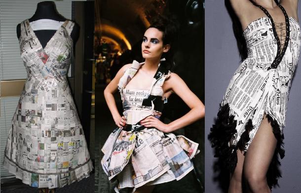 newspaper-dress2 - Show Posts - Lollapalooza
