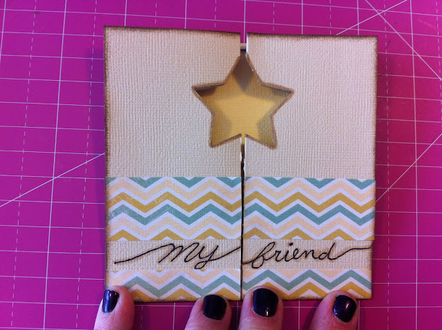 star-folded-card-my-friend-gate-gold-card