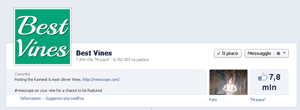 Vine Pagina Facebook
