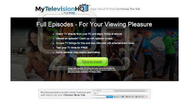 MyTelevisionHQ Toolbar