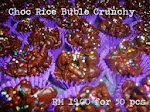 Chocolate Buble Rice Crunchy