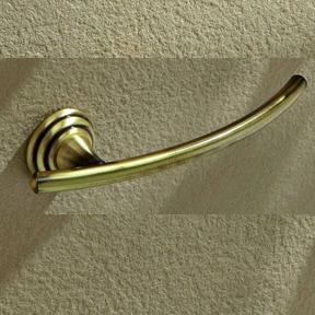toallero baño rustica oro