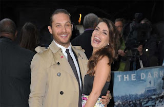 Tom Hardy Girlfriend Charlotte Riley 2013