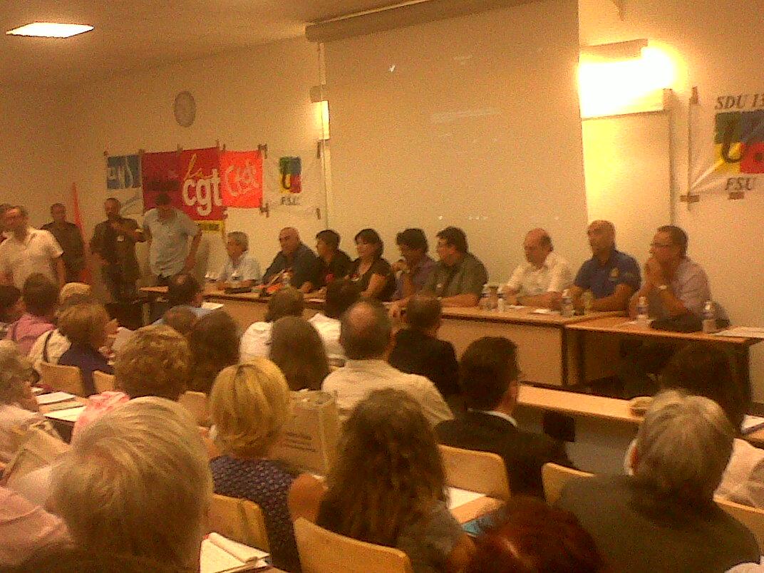 Cfdt Aix Marseille Provence Metropole Table Ronde Propret La Pravda Locale Encore Plus