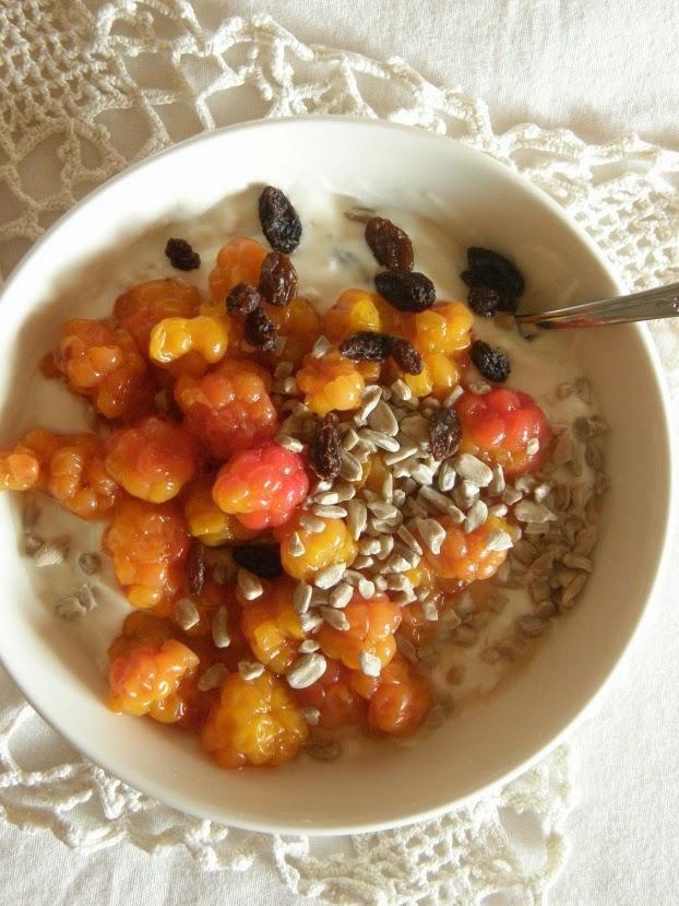 Ihania ilta(tai aamu-)paloja soijajugusta -tuorepuuroksikin sanotaan