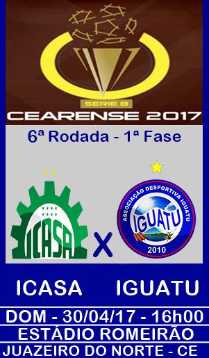 ICASA x IGUATU - ESTÁDIO ROMEIRÃO