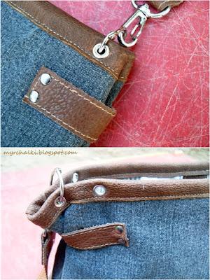 вторая жизнь старых джинс сумка