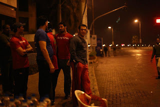 Salman's Being Human decided to encourage the Mumbai Marathon Runners