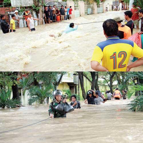 Kumpulan foto-foto bencana alam di Sulawesi Utara , Sumber foto di ...
