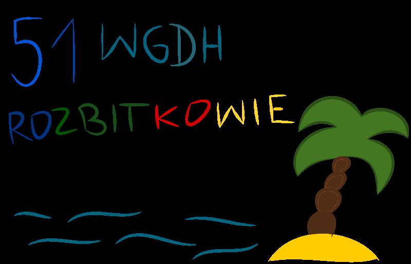 """51 Wodna Gdyńska Drużyna Harcerska """"ROZBITKOWIE""""                         im. Kazimierza Porębskiego"""