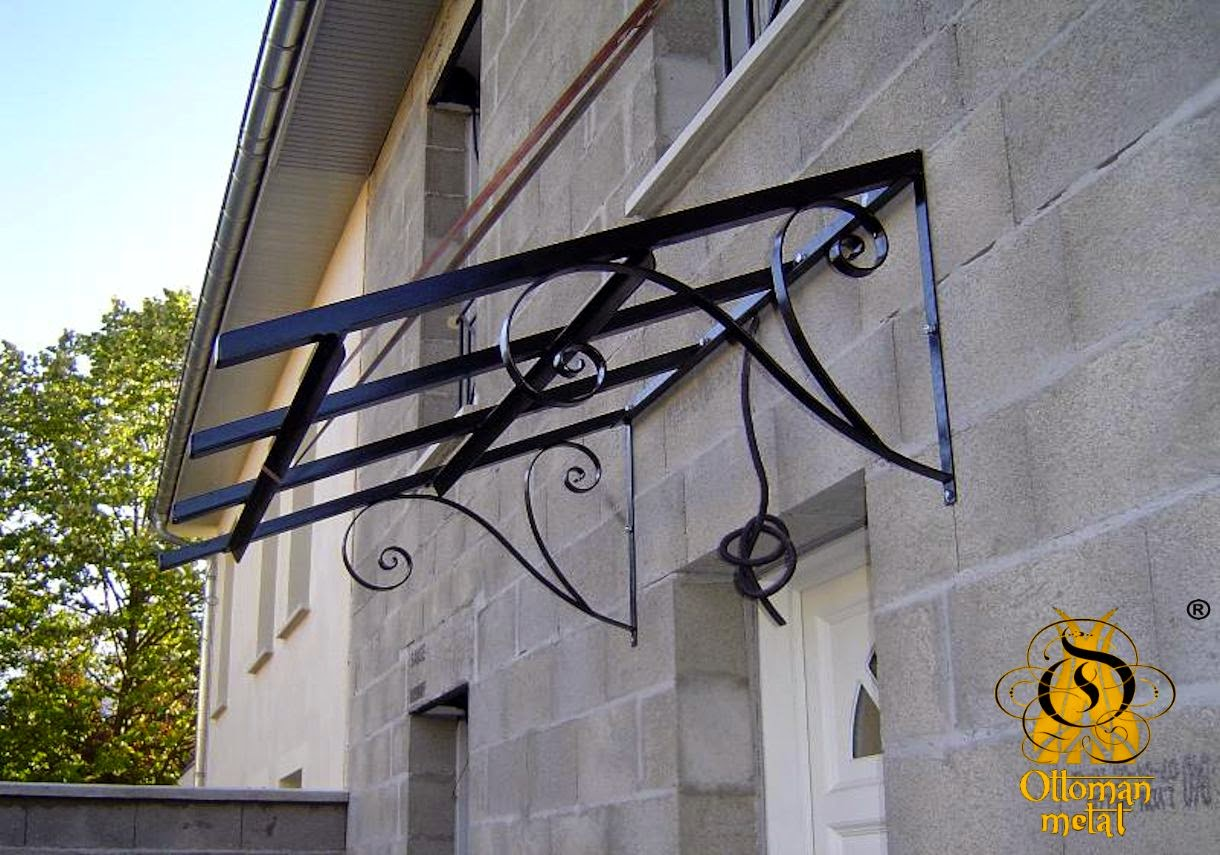 Wrought Iron Door Canopies Wrought Iron Metal Latvia