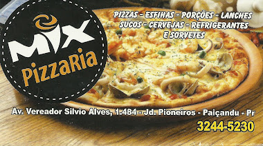 MIX PIZZARIA DISK ENTREGA 3244 5230