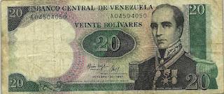 Te muestro mi colección de billetes de Venezuela