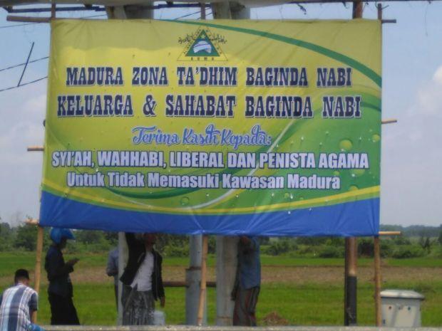 Madura Tolak Syi'ah, Wahabi, Liberal dan Penista Agama Masuk Wilayahnya