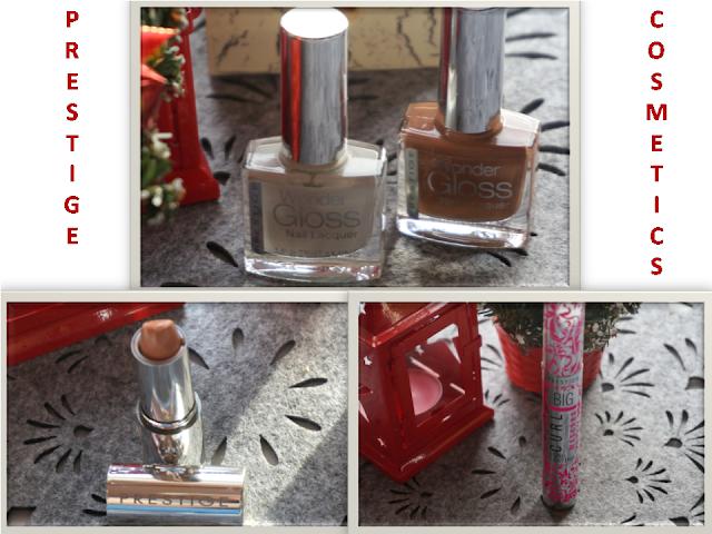 Kosmetyki Prestige: maskara, pomadka i lakiery