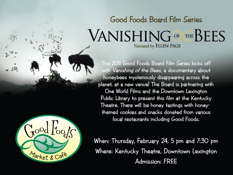 the vanishing of the bees Vanishing of the bees - 2009 this documentary takes a piercing investigative look at the economic, political and ecological implications of the worldwide.