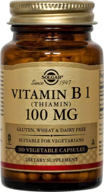 كبسولات فيتامين ب1 – أقراص فيتامين ب1 - حبوب فيتامين ب1
