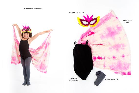 disfraces halloween: mariposa