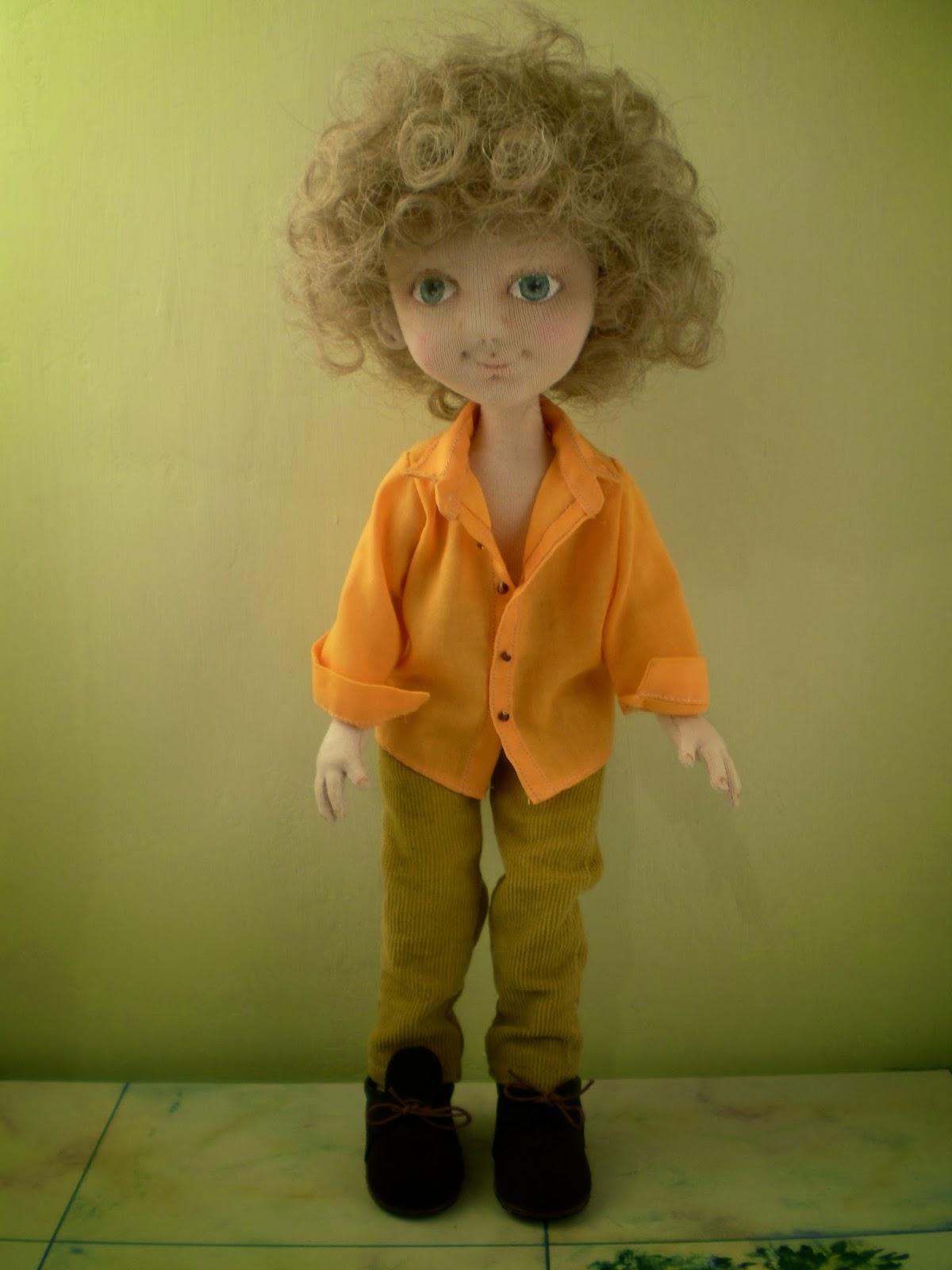 Как из фото сделать куклу