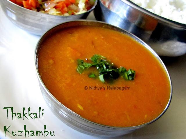 Thakkali Kuzhambu