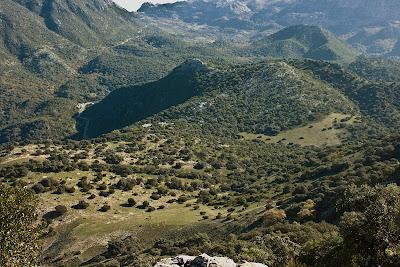 El Albarracinejo desde las laderas del Albarracín