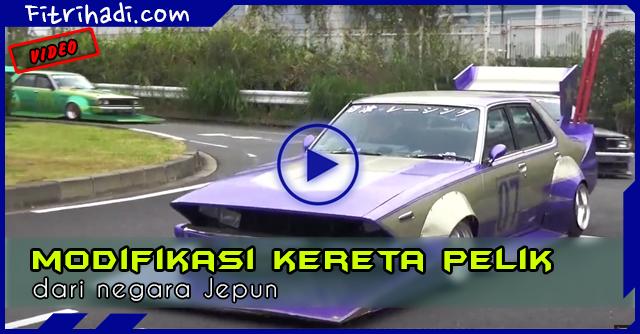 Video Trend Baru Modifikasi Kereta Pelik dari Jepun