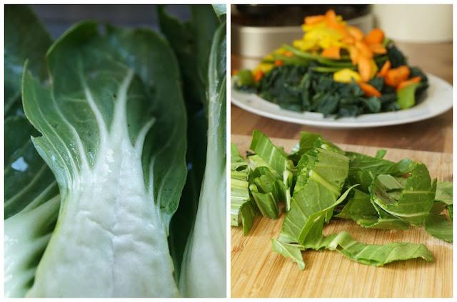 Pak choi and all the other veg - 'growourown.blogspot.com' ~ An allotment blog