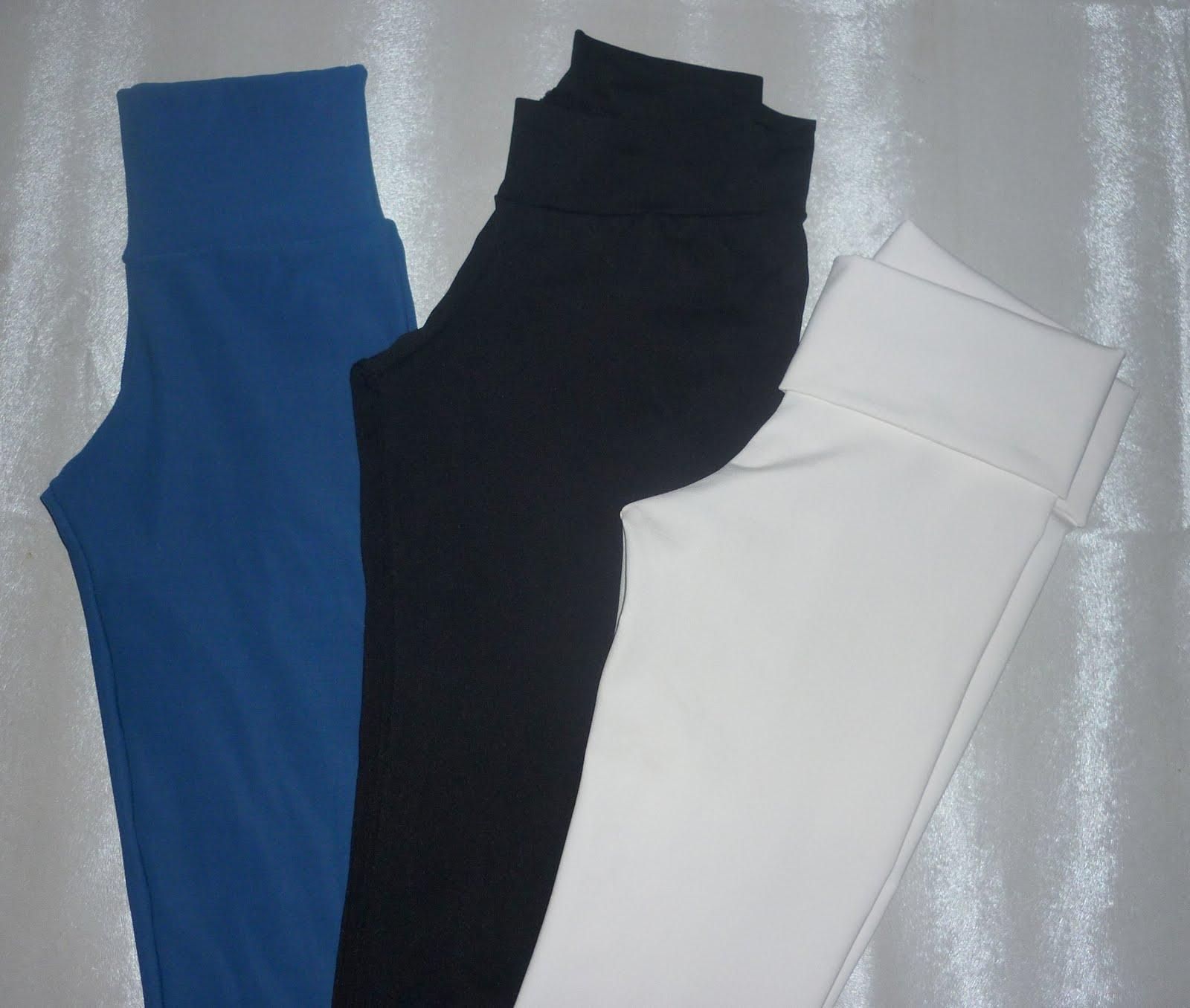 calzas de algodon capri $ 40 tobillo $ 50 rectas $ 60 calzas de lycra ...