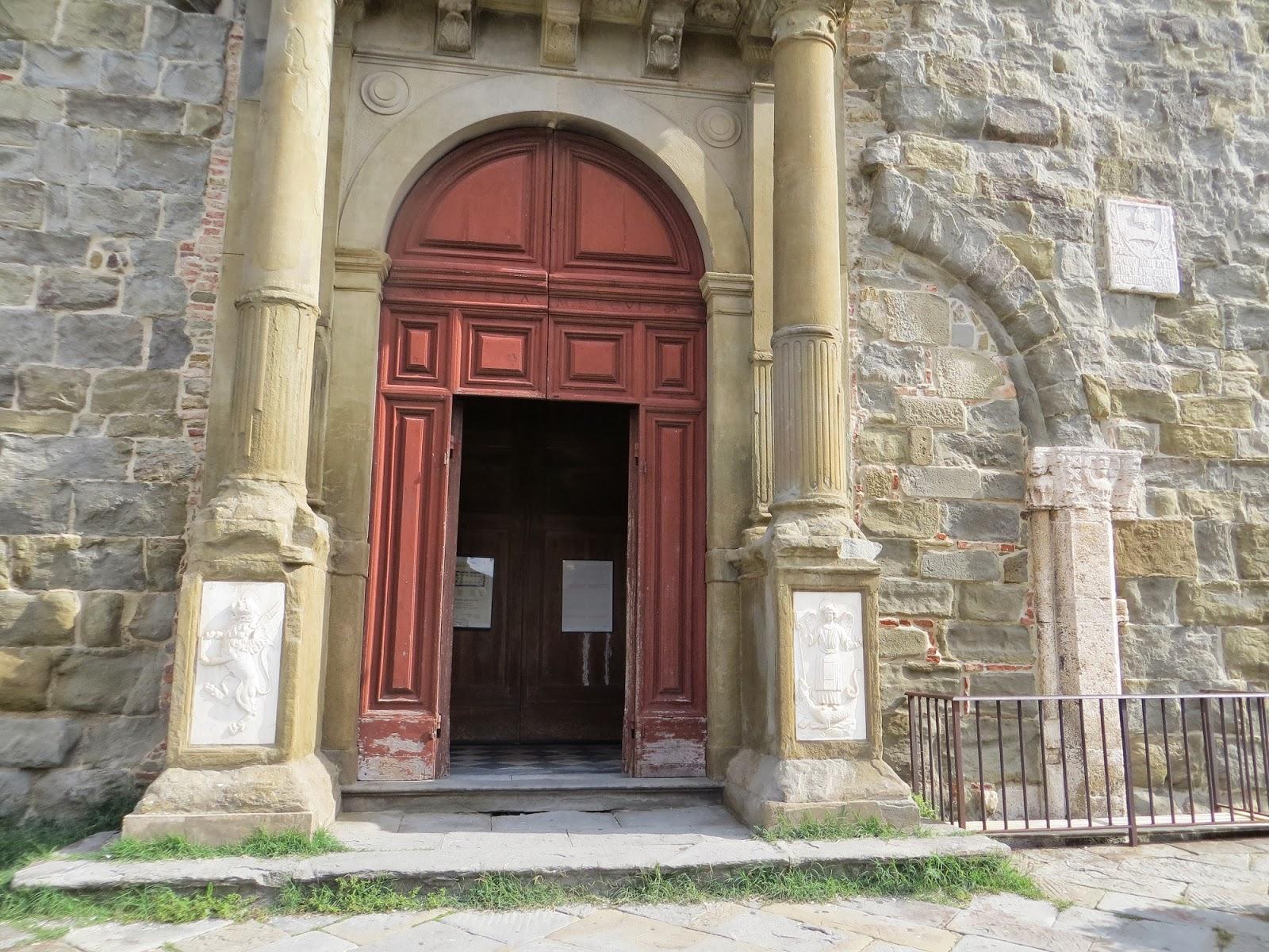Duomo in Cortona, Italy