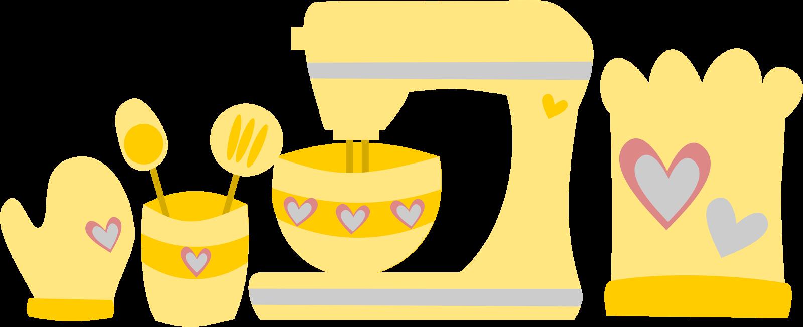 inkscape, amasadora, clip art, amarillo, corazón, diseño, cocina, kitchen aid