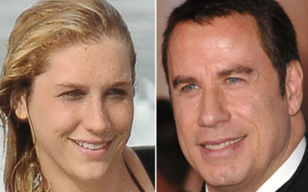 Kesha And John Travolta Really Look Alike