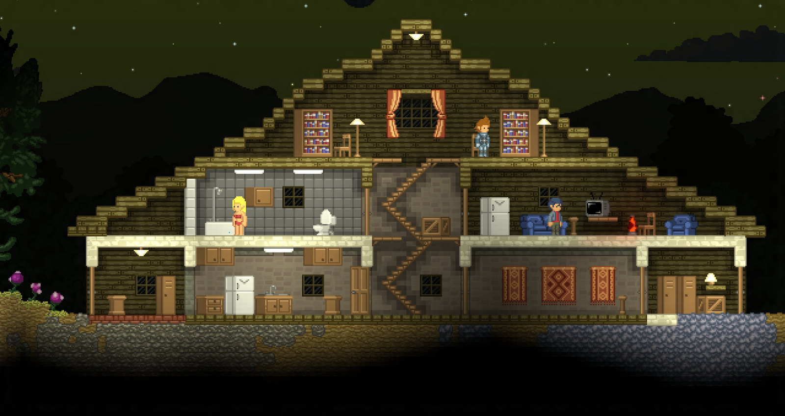 Indie Retro News Starbound Action Adventure RPG From the