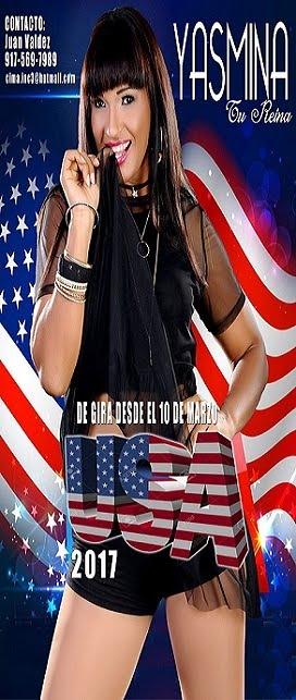 YASMINA DE GIRA POR EEUU
