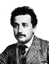 1904 image of Albert Einstein