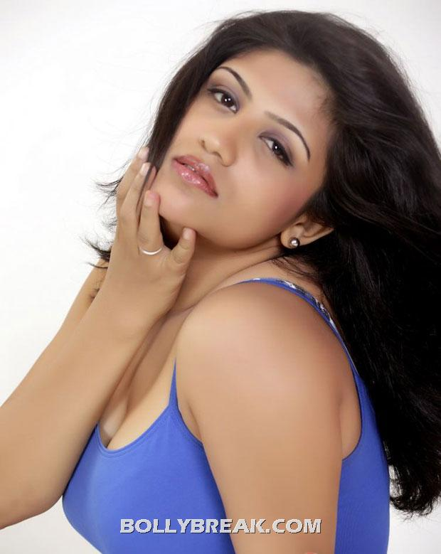 Supriya hot photo - (2) - Supriya Blue tank top photos