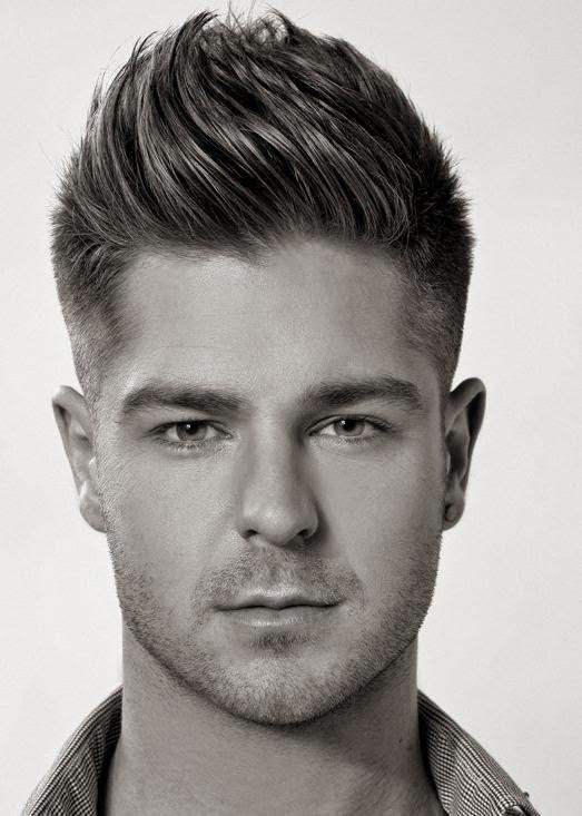 Wavy Quiff Hairstyles For Men 2014 Mens Hairstyles Womans