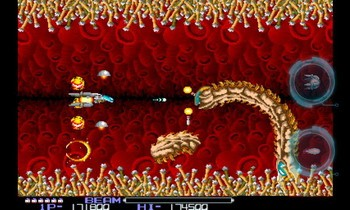 Classic arcade shooter game R-TYPE available on Android