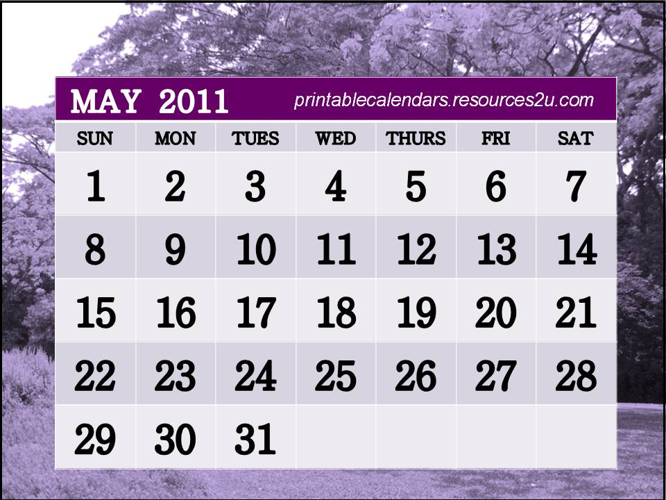 may calendar 2011 images. may calendar 2011.