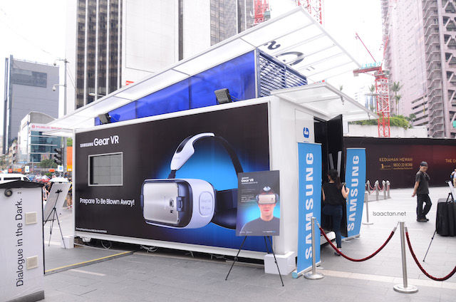The Samsung Gear VR Innovator Edition for S6 showcase at Pavilion last week