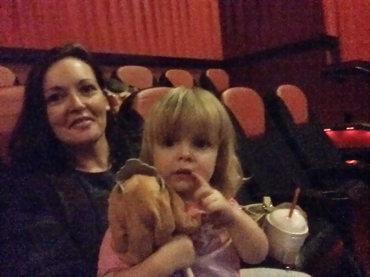 Amelia Did End Up Wanting To Start The Movie In Anna's Lap, And It Was  Amelia's Day, After All